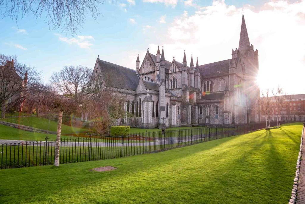 St Patricks Cathedral in Dublin