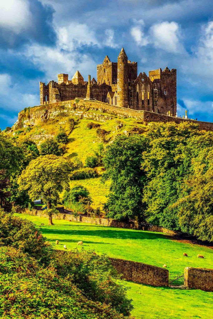 The Rock of Cashel Castle