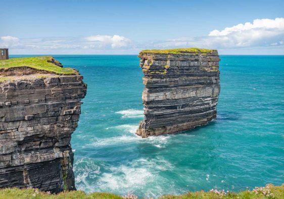 Downpatrick Head Sea Stack in Ireland