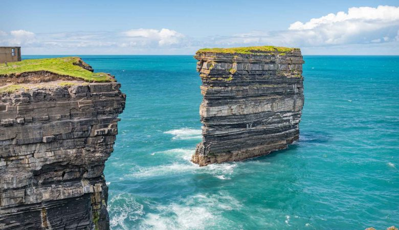 Downpatrick Head Sea Stack in Ireland