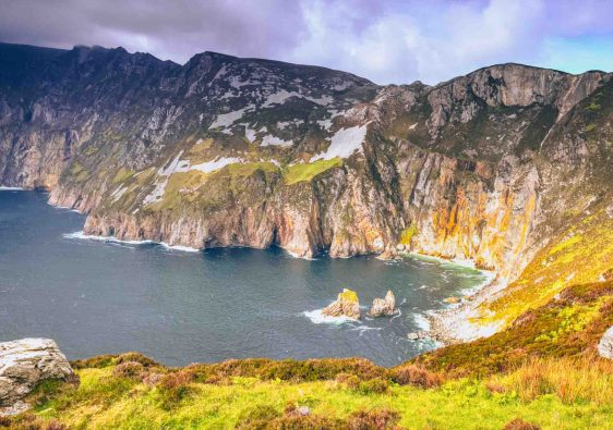 Slieve League cliffs of County Donegal