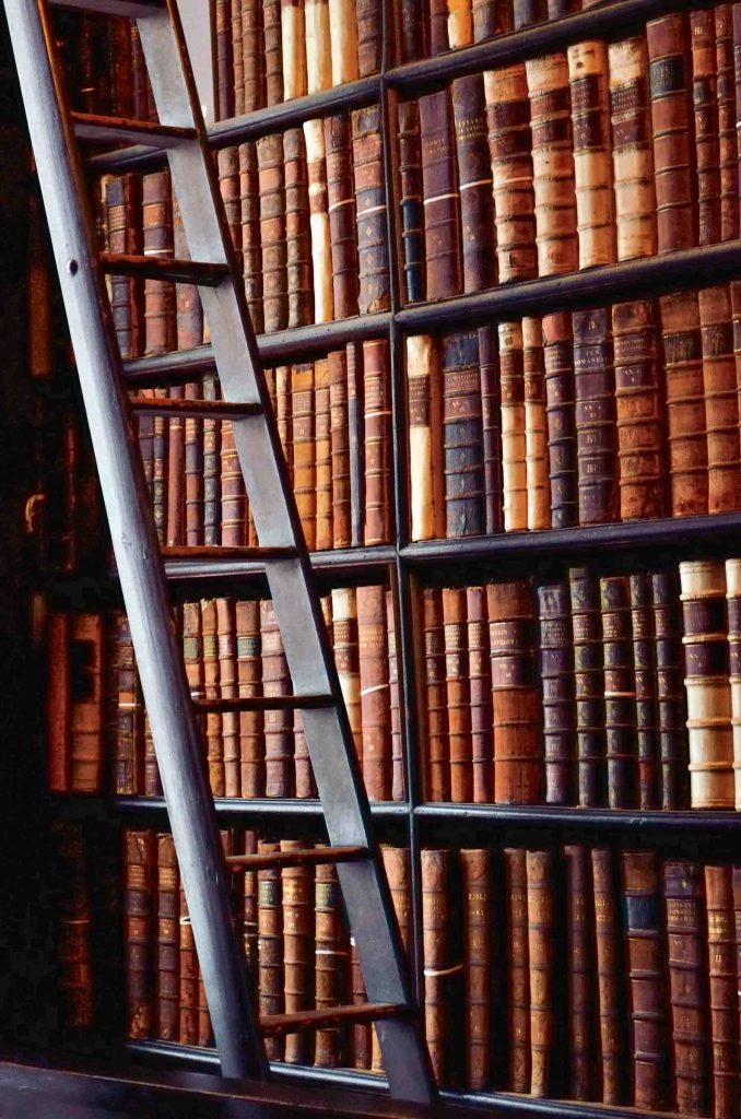 Old Library in the Trinity College, Dublin